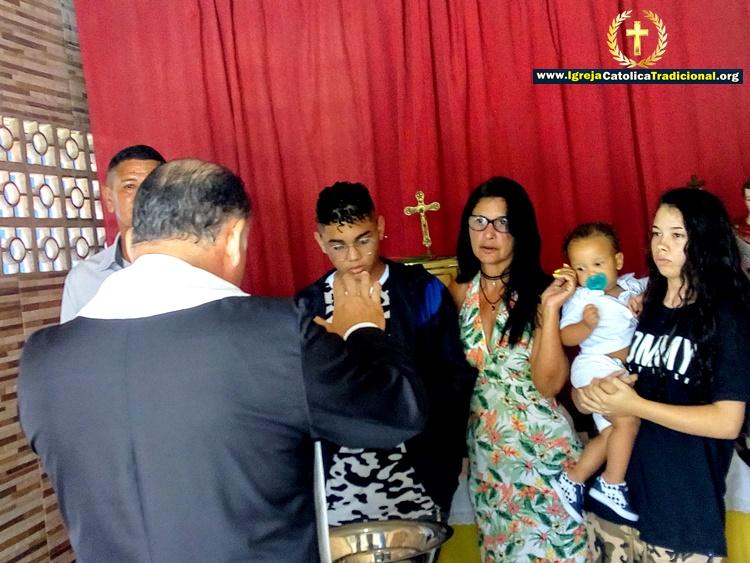 Batismo Consagração a Maria Santíssima