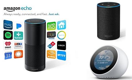 """Amazon anunciou """"três novos speakers inteligentes"""" que estão equipados com Alexa"""