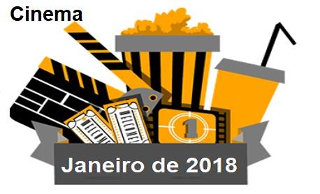 Cinema: Veja aqui as principais estreia de filmes nos cinemas brasileiro neste mês de janeiro