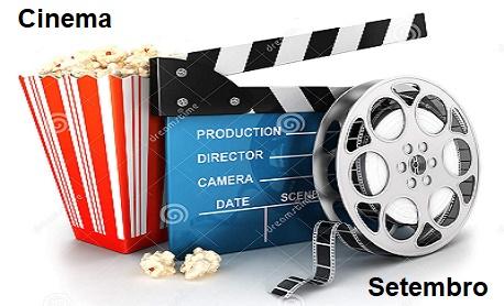 """Veja aqui as principais """"estreia de filmes"""" do mês de setembro nos cinemas brasileiro"""