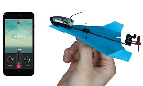 """Conheça """"Powerup Dart"""" um drone de papel que faz acrobacias e pode ser controlado pelo smart"""