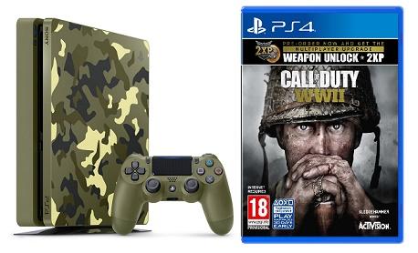 """Console """"PS4"""" terá edição limitada camuflada do jogo 'Call of Duty: WWII'"""