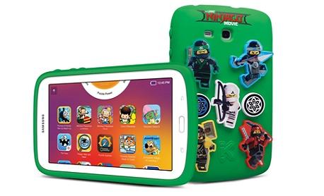"""Samsung anuncia novo """"Galaxy Kids Tab"""" com inspiração no Ninjago"""