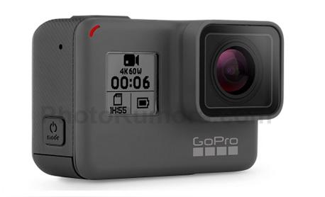 """Empresa GoPro apresentou nova câmera """"Hero6 Black"""" com gravação 4K a 60 fps"""