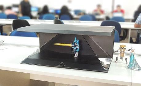 """Conheça """"Holobox"""" aparelho para fazer holograma em casa e esta disponível no Kickstarter"""