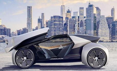 Jaguar apresentou Future-Type o conceito futurista com volante inteligente