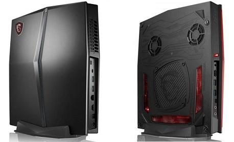 """MSI lançou """"Vortex G25"""" um PC gamer fino que chega com Core i7 e Nvidia GTX 1070"""
