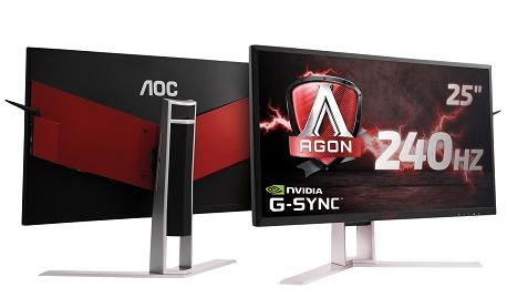 """Fabricante AOC lançou no mercado brasileiro """"monitor gamer Agon"""" com tela curva"""