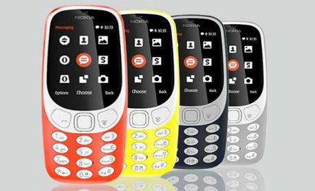 """O """"Nokia 3310 (2017) vai ganhar nova versão com mais cores e suporte a rede 3G"""