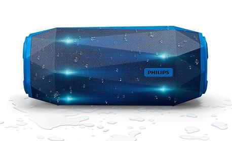 """Conheça """"Philips ShoqBox SB500"""" á prova d'água e com luzes de LED responsivas"""