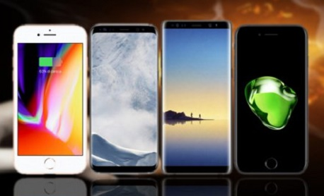 "Os ""iPhone 8 Plus x 7 x Galaxy Note 8 x S8 Plus"" passam por testes de bateria"