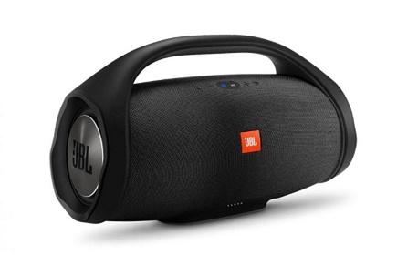 """Conheça """"JBL Boombox"""" uma caixa de som Bluetooth que tem bateria para 24 horas de música"""