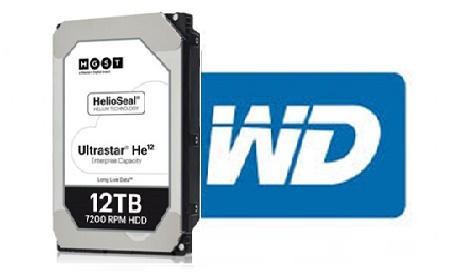 """A fabricante """"Western Digital"""" lançou um HD com 12 TB de armazenamento"""