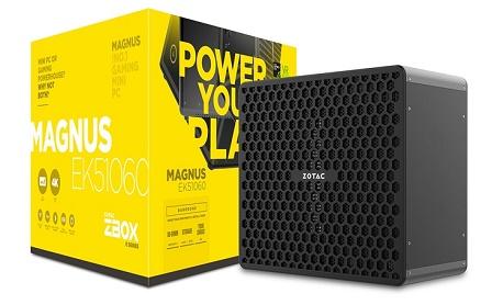 """Fabricante Zotac anunciou """"Zbox Magnus"""" seu dois novos PCs gamer compactos"""