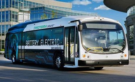 """Conheça """"Catalyst E2 Max"""" um ônibus elétrico que anda 1,7 mil km com apenas uma carga de bateria"""