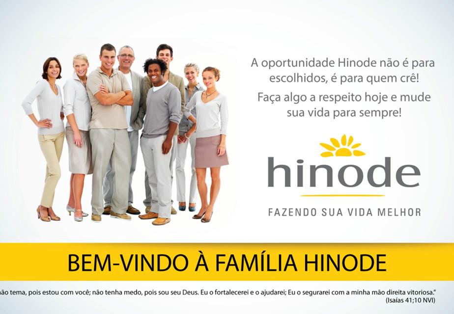 Oportunidade Hinode é para quem acredita, faça seu cadastro no ID 96036