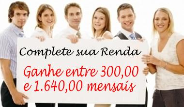 Complete sua renda Ganhe entre 300 e 1640 mensais com vendas de perfumes e cosméticos