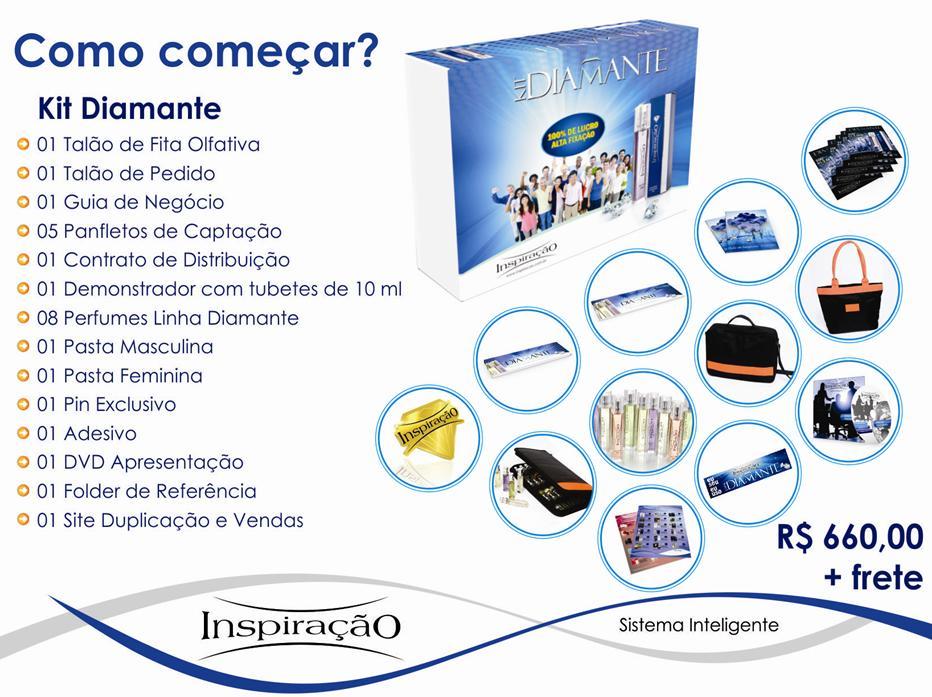 Kit Diamante comece na Inspiração Perfumes com Categoria