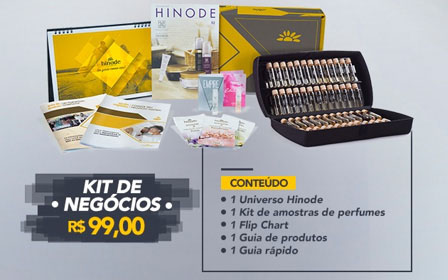 KIt Hinode 99,00 faça o cadastro Hinode no ID 1703504 e peça seu kit 99,00