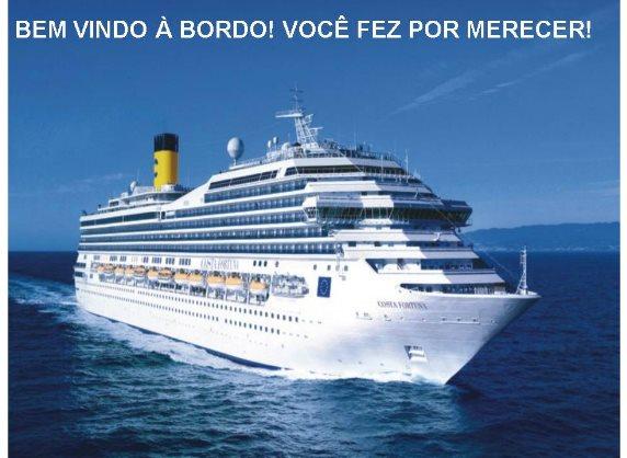 Navio Imperatriz leva os Inspirados para férias, venha sou José Santana código 66985 faça seu cadastro