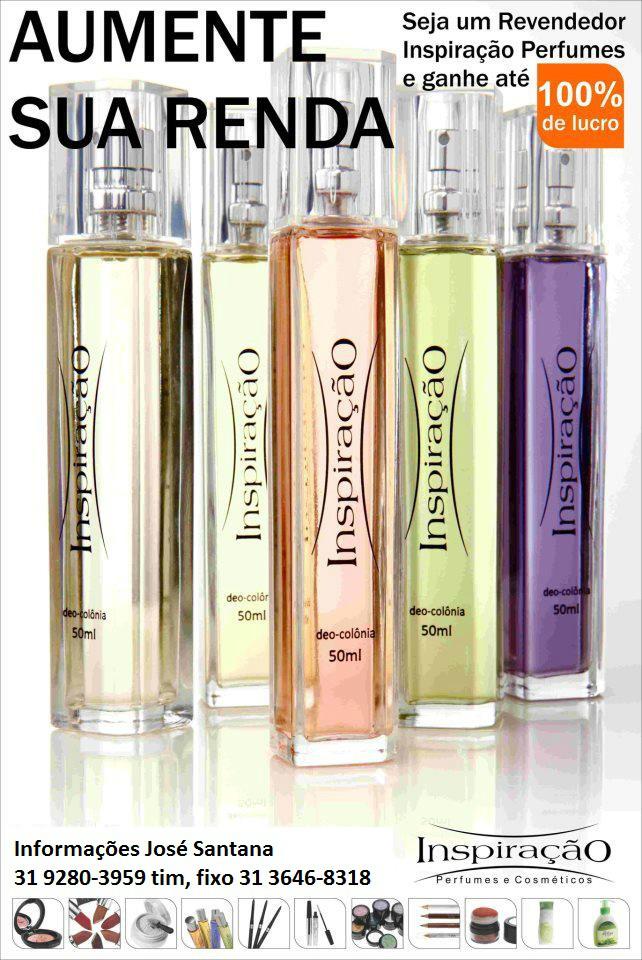 Aumente sua renda seja um Revendedor Inspiração Perfumes e Ganhe até 100% de lucros