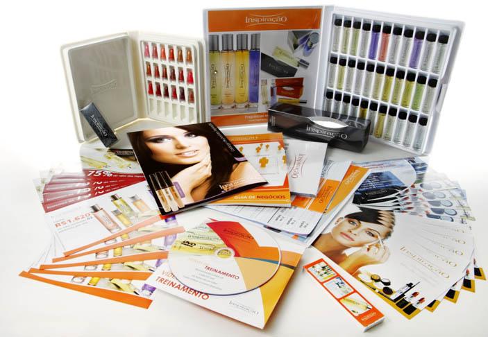 kit master, perfume e batom comece hoje na Inspiração Perfumes com este kit de negócio