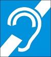 simbolo internacional de surdez