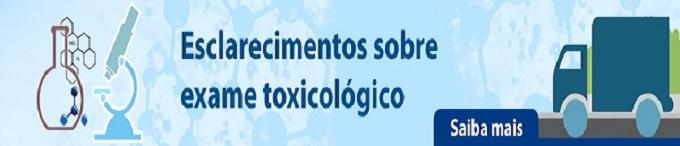 Exame toxicológico para motoristas com habilitação C, D e E passa a ser obrigatório em São Paulo