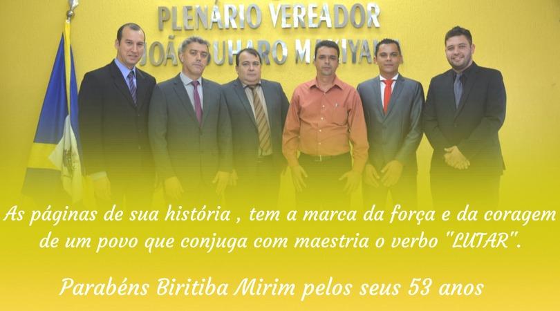 ANIVERSÁRIO DE BIRITIBA MIRIM 2017