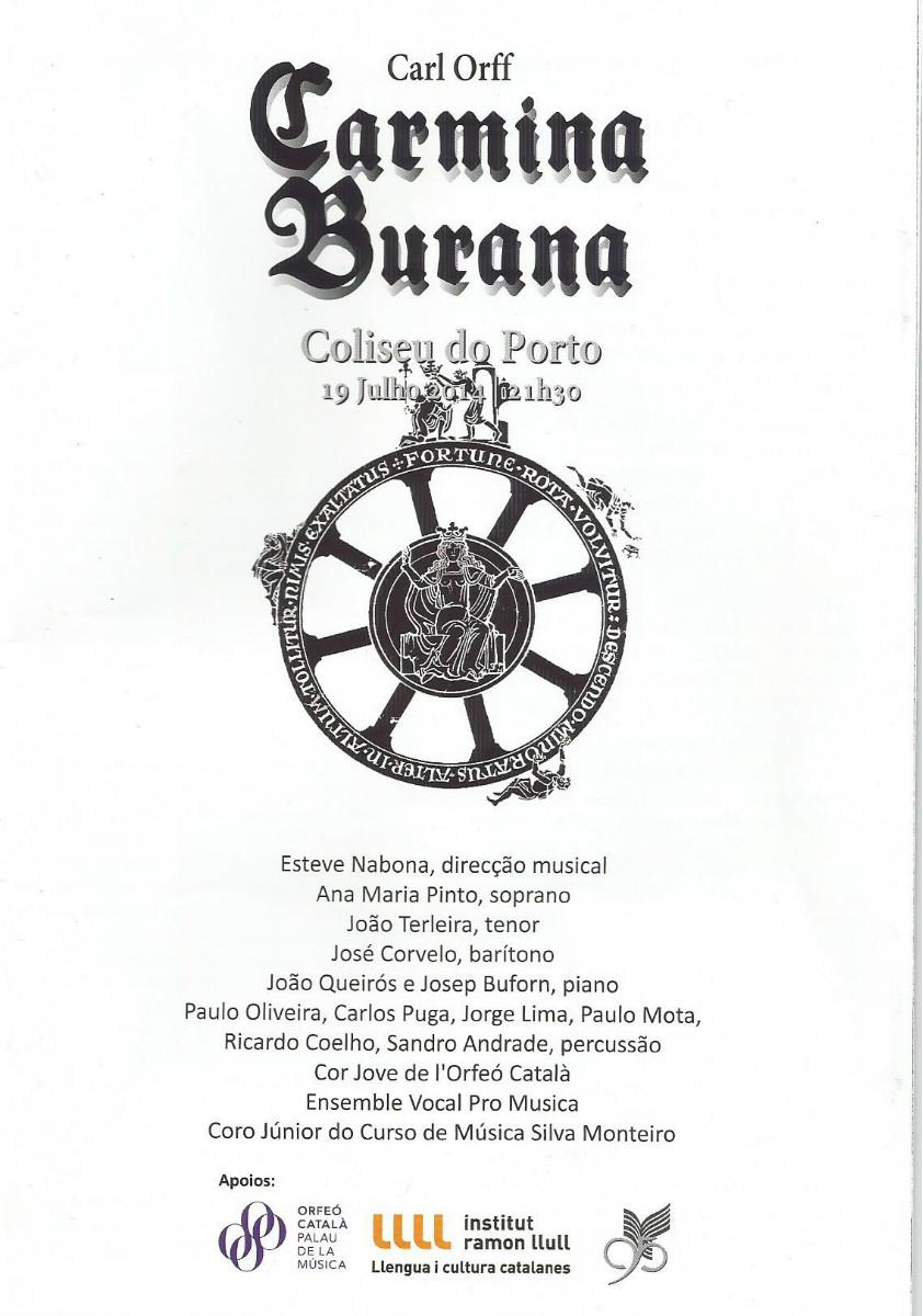 Carmina Burana- Coliseu do Porto , 2014