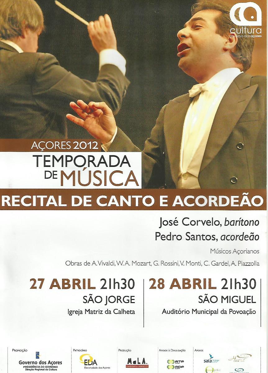 Temporada Azores 2012