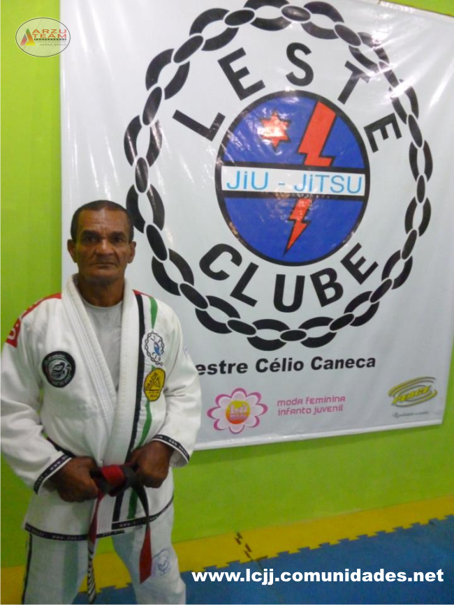 Mestre de jiu-jitsu Célio Cabeca