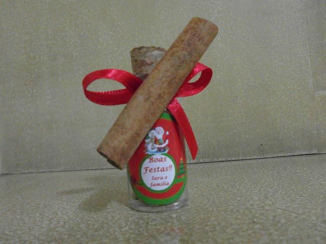 Mini Garrafinha com lentilha e canela
