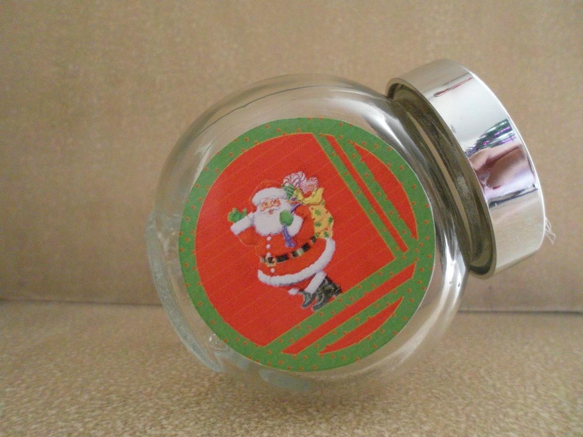 Baleiro de vidro de Natal!!