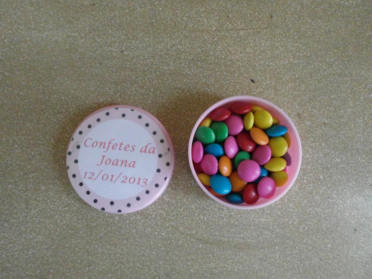 Latinhas de Plástico com mini confete!!