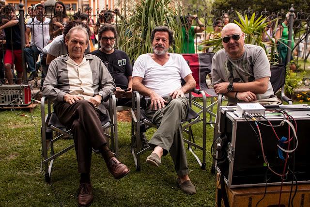 José Wilker, Joaquim de Almeida e Leonel Vieira