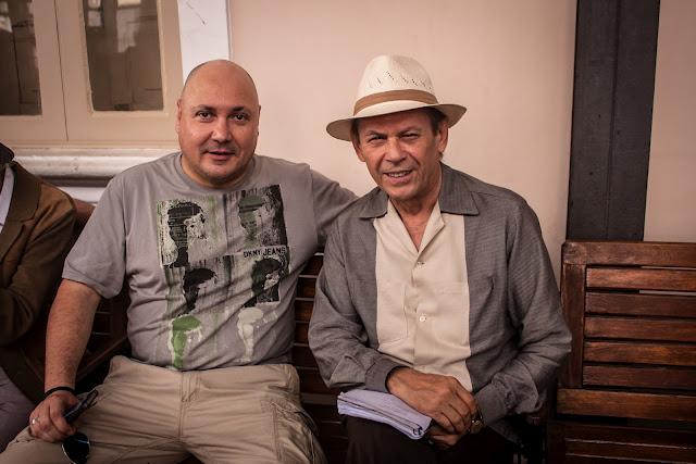 Leonel Vieira e José Wilker