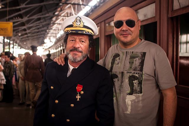 Joaquim de Almeida e Leonel Vieira