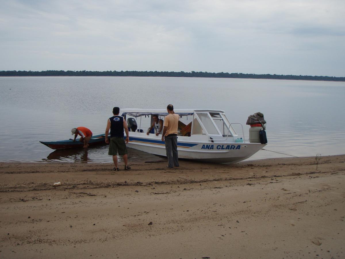 Barco amazonas