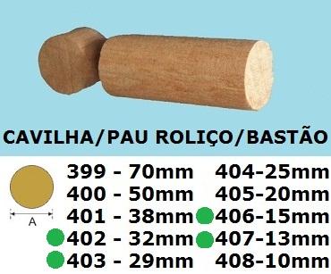 bastão / Cavilha