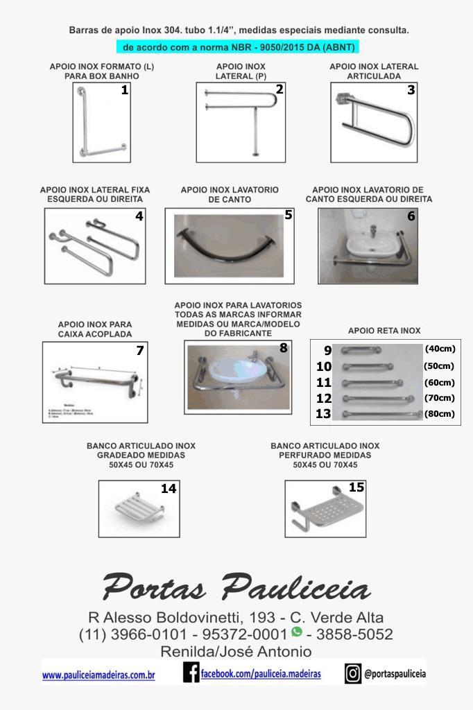 Acessórios Banheiro PNE