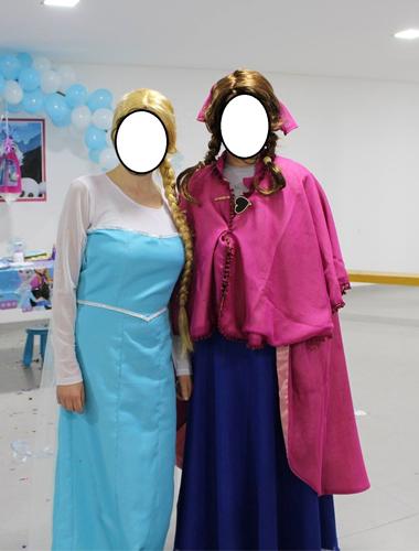 fatos de Anna e Elsa