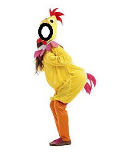fato de galinha