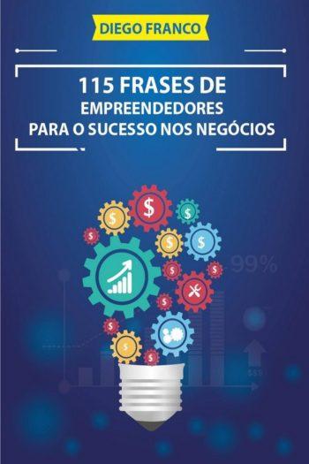 imagem do livro 115 frases de empreendedores de negócio