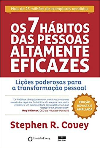 imagem do livro os 7 hábitos de pessoas altamente eficazes