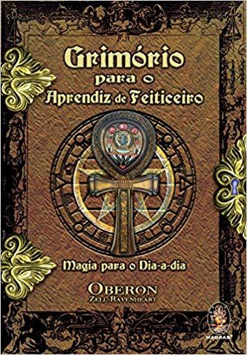 imagem do livro grimório para o aprendiz de feiticeiro
