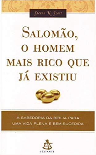 imagem do livro salomão o homem mais rico que já existiu
