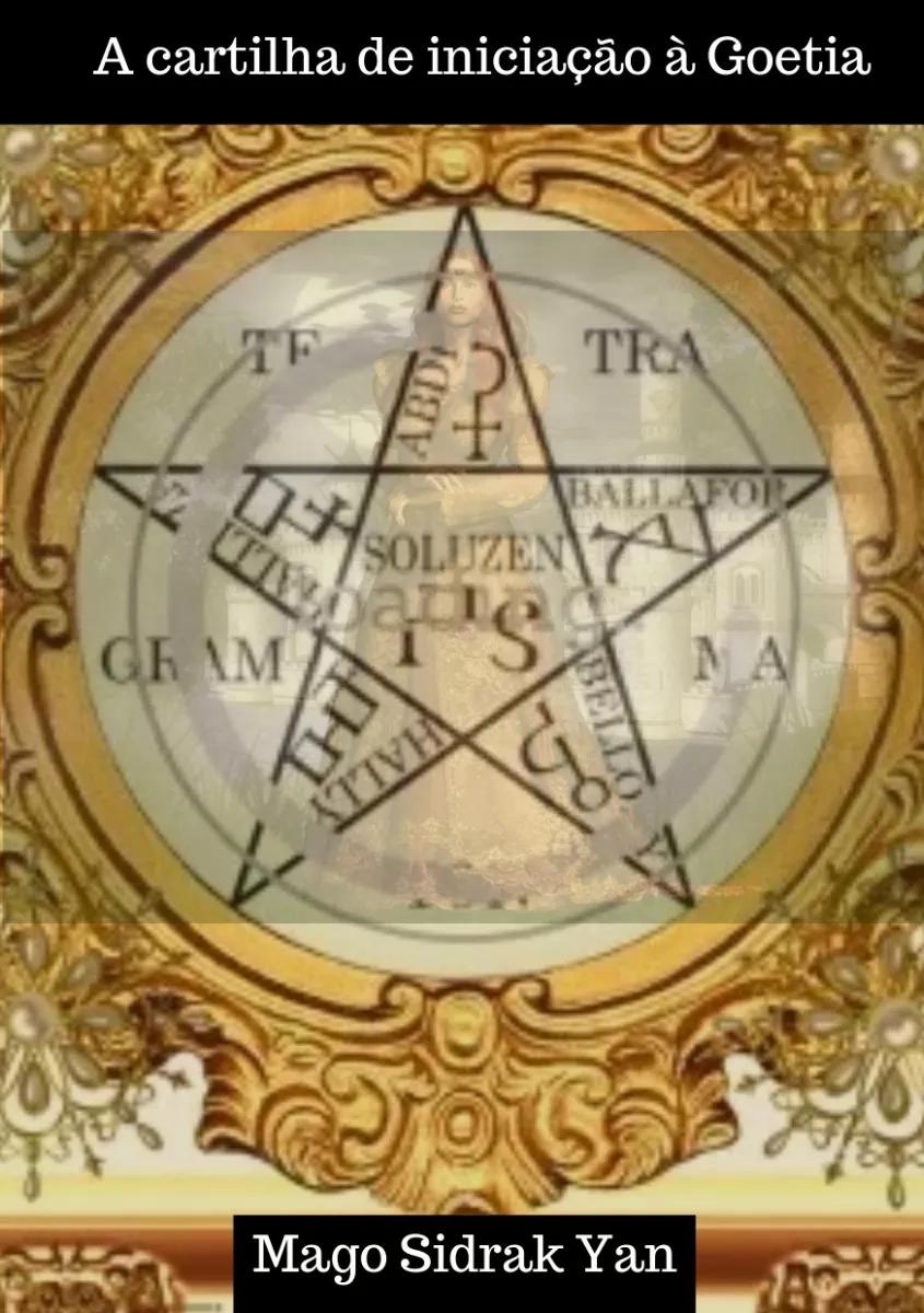 imagem da capa do livro a cartilha de iniciação à goetia