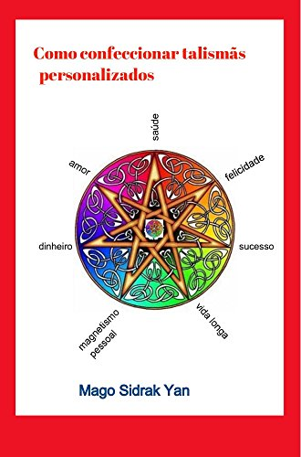 imagem do  livro como confeccionar talismãs personalizados