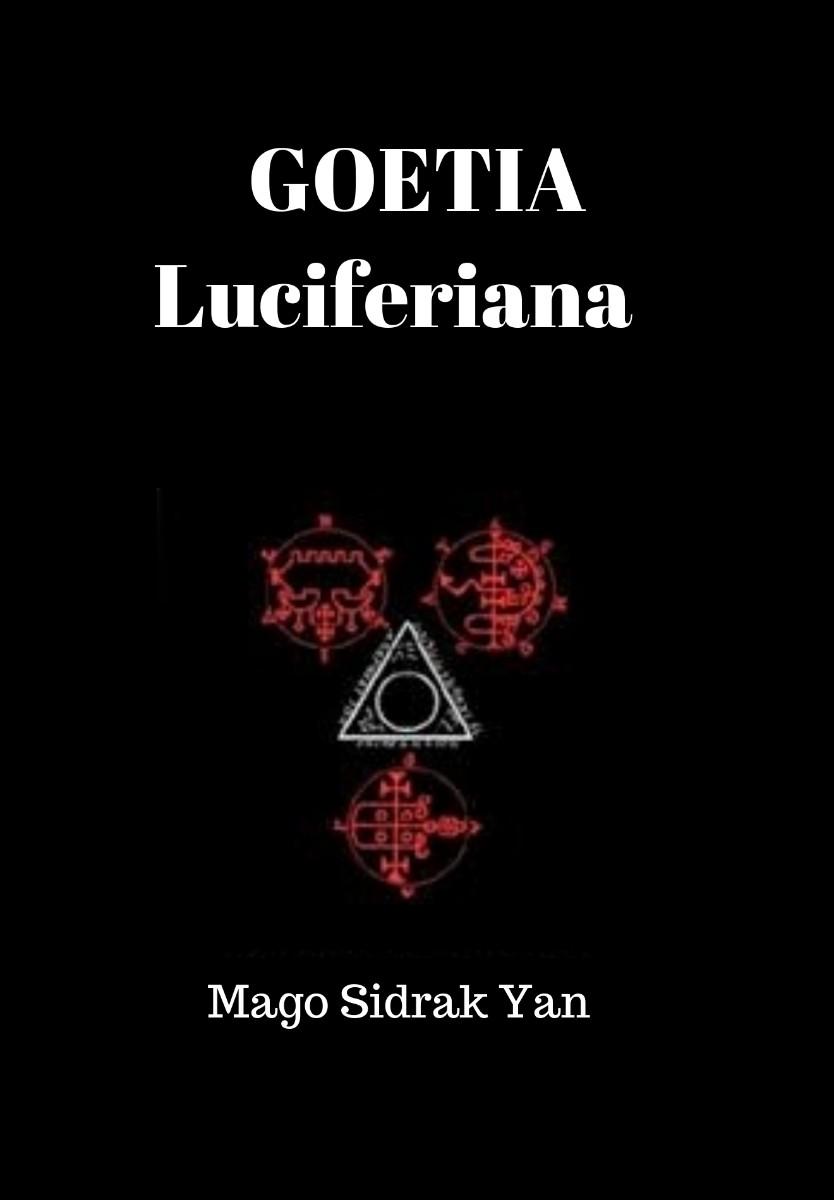 imagem da capa da livro goetia luciferiana